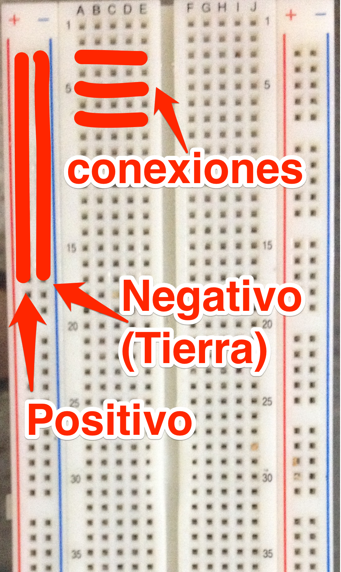 Circuito Electrico Simple Explicacion : Protoboard hardware hacking mx