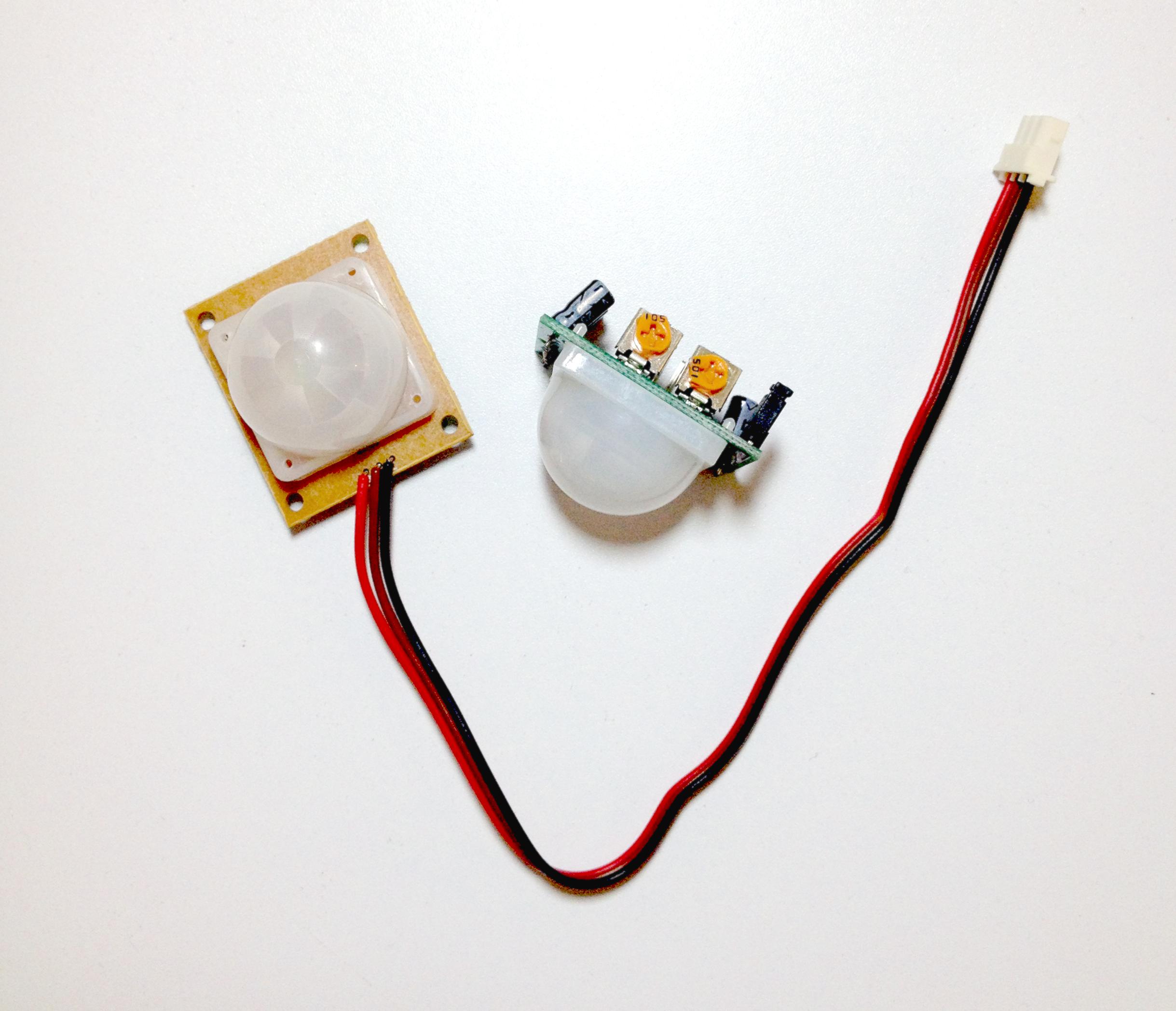 Lecci n 27 arduino sensor de movimiento pir hardware - Tipos de sensores de movimiento ...